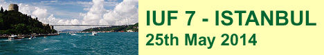 IUF 7 Istanbul 2014 May 25th